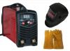 Високо качество Инверторен IGBT електрожен GREENYARD - ММА 200А реални ампери - с дигитален дисплей и соларна маска с ръкавици -електроди 1 мм до 4 мм - 1 година гаранция