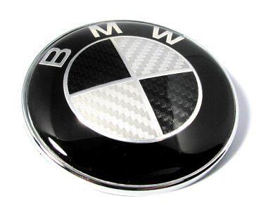 """Нова предна емблема за BMW 82mm CARBON E30 - E36 - E46 - E90 - 3 серия"""" """"E34 - E39 - E60 - 5 серия"""" """"E32 - E38 - E65 - 7 серия"""" """"Z3 - Z4 - X3 - X5 - M3"""