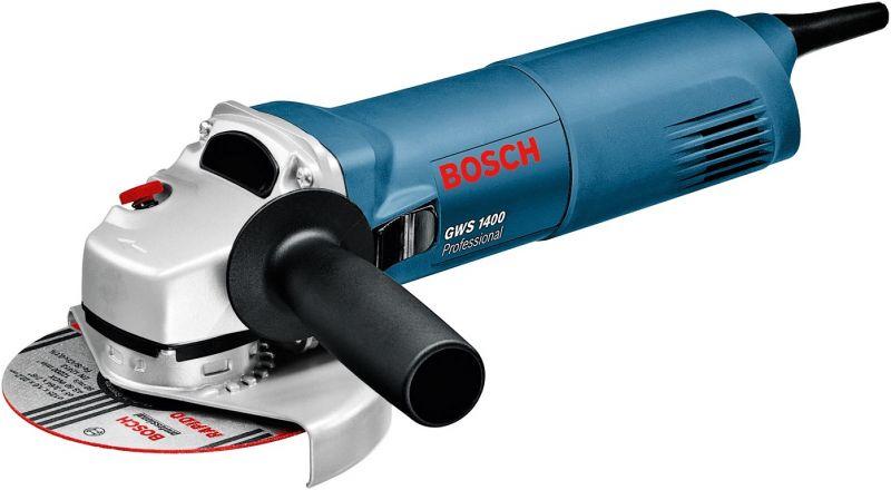 Ъглошлайф Bosch 1400W ф 125- 3 години гаранция-внос от Германия   Rudimpex.com