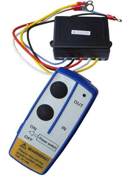 Безжично дистанционно за лебедка 12V - за джип - камион - SUV - ATV - контролен модул - контролер - 21259