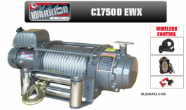 Електрическа лебедка CHAMPION / WARRIOR за автовози, камиони  17500 EWX -24V- 7938 kg/ 17500 LBS - внос от Англия - 2 години гаранция   | Rudimpex.com.