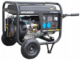 Бензинов мотогенератор Hyundai HY10000 LEK / 7.5 kW, ел. стартер, 25 л. резервоар/