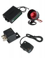 Автоаларма със сгъваем ключ (имобилайзер + централно заключване + 2 броя дистанциони + шоков датчик ) с 50% отстъпка от Rudimpex.com