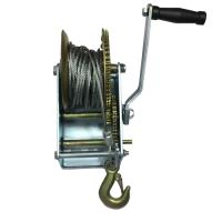 Ръчна лебедка Rudimpex M2500 - 1133кг / 2500LB winch с 10м стоманено въже - за лодки -  ATV - платформи - 00517 | Rudimpex.com