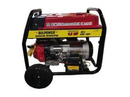 Генератор за ток - бензинов - 6,5 KW - монофазeн / трифазен- 2 години гаранция