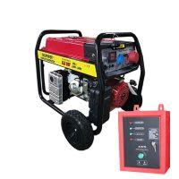 Генератор за ток - бензинов - 6,5 KW - монофазeн и трифазен ток -Автоматична старт стоп система- ATS ТАБЛО- 2 години гаранция