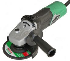 Ъглошлайф Hitachi ф 125 мм 1500W и регулиране на обороти  - 3 години гаранция | Rudimpex.com