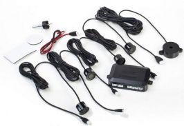 Парктроник звуков без дисплей - с 4 сензора с 50 % отстъпка от Rudimpex.com - черни датчици