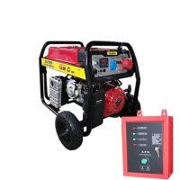 Бензинови генератори 7.5 KW за трифазен и монофазен ток комбинирано с автоматика и автоматично старт-стоп табло- 2 години гаранция