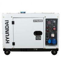 Мотогенератор дизелов монофазен обезшумен DHY 8600SE - 6,3 kW, ел. стартер Hyundai